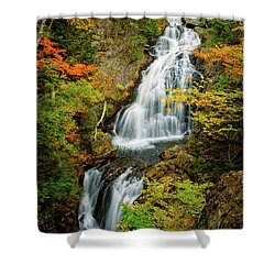 Autumn Falls, Crystal Cascade Shower Curtain