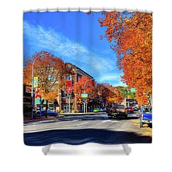 Shower Curtain featuring the photograph Autumn In Pullman by David Patterson