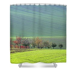 Autumn In South Moravia 18 Shower Curtain
