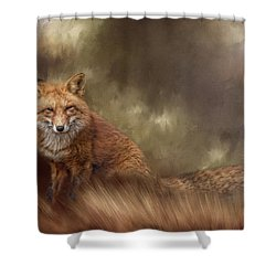 Autumn Journey Shower Curtain