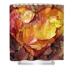 Autumn Love Shower Curtain
