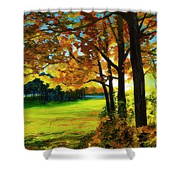 The Sun Will Rise With Healing In His Wings Shower Curtain