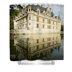Shower Curtain featuring the photograph Azay-le-rideau by Stephen Taylor