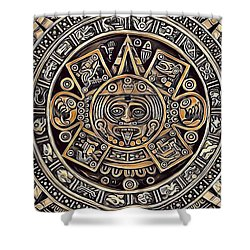 Aztec Mayan And Mexican Culture 29 Shower Curtain