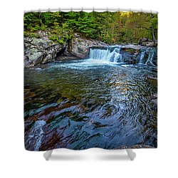 Baby Fall Pool Shower Curtain