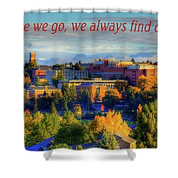 Shower Curtain featuring the photograph Back Home 3 by David Patterson