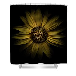 Backyard Flowers 18 Color Version Shower Curtain
