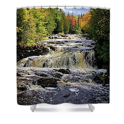 Bad River Cascade Shower Curtain