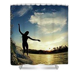Balance Shower Curtain