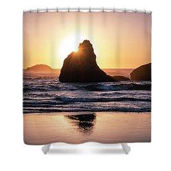 Bandon Light Shower Curtain