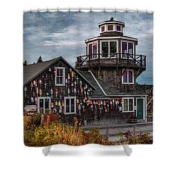 Bass Harbor Shower Curtain