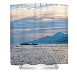 Batangas Sunset Shower Curtain