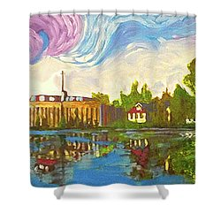 Bayou Saint John One Shower Curtain
