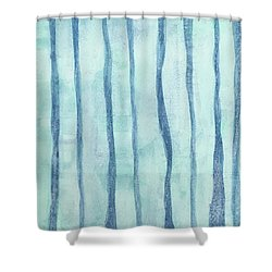 Beach Collection Beach Water Lines 2 Shower Curtain