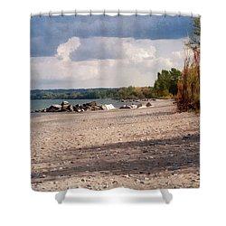 Beach Storm Shower Curtain