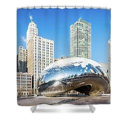 Bean Scene Shower Curtain