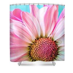 Beautiful Pink Flower Shower Curtain