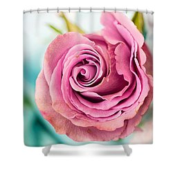 Beautiful Vintage Rose Shower Curtain