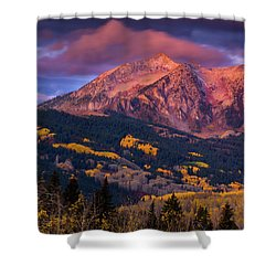 Beckwith At Sunrise Shower Curtain