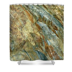 Shower Curtain featuring the photograph Bedrock Of Ages 5 by Lynda Lehmann