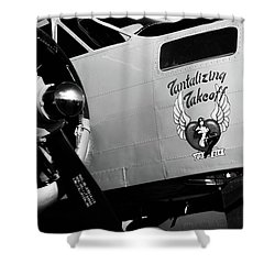 Shower Curtain featuring the photograph Beech At-11 Bw by Doug Camara