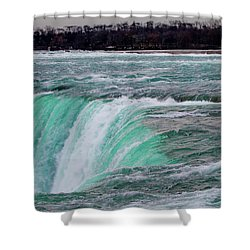 Before The Falls Shower Curtain