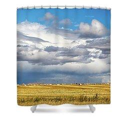 Big Sky Montana Shower Curtain