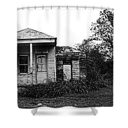 Black And White Architecture, 2 Shower Curtain