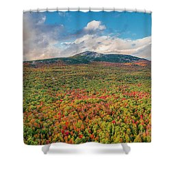 Blanketed In Color Shower Curtain