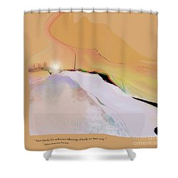Blessings For All No. 1 Shower Curtain