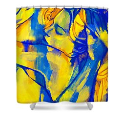 Blissful Embrace Shower Curtain