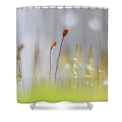 Blooming Moss Shower Curtain