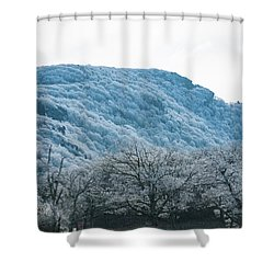 Blue Ridge Mountain Top Shower Curtain