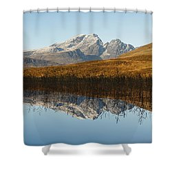 Shower Curtain featuring the photograph Blue Skye by Stephen Taylor