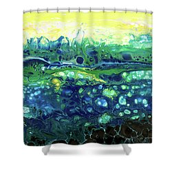 Blueberry Glen Shower Curtain