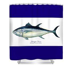 Bluefin Tuna Shower Curtain