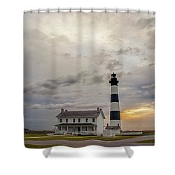 Bodie Island Lighthouse No. 2 Shower Curtain
