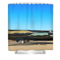 Boeing B52d Sac Bomber Shower Curtain