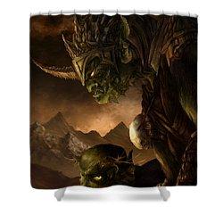 Bolg The Goblin King Shower Curtain