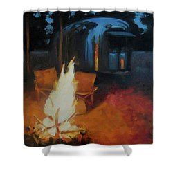 Boondocking At The Grand Canyon Shower Curtain
