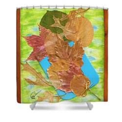 Bouquet From Fallen Leaves Shower Curtain
