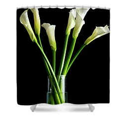 Bouquet Of Calla Lilies Shower Curtain