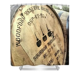 Bourbon Barrel Shower Curtain