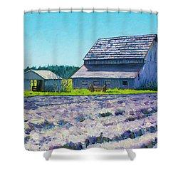 Boyer Barn Shower Curtain