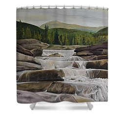 Bragg Creek Shower Curtain