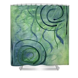 Beach Collection Breeze 2  Shower Curtain