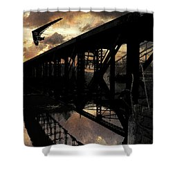 Bridge I Shower Curtain