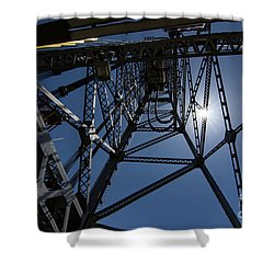 Bridge Tower Shower Curtain