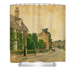 Broadway Street View Shower Curtain