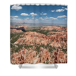 Bryce Canyon Trail Shower Curtain